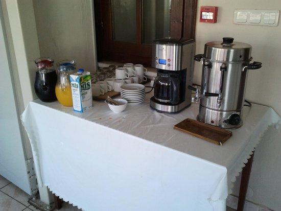 Gul Sultan Hotel: Tea & cofee