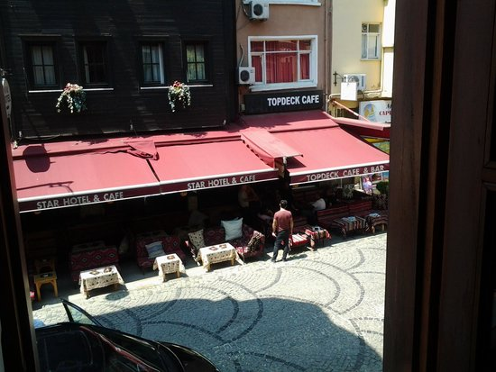 Gul Sultan Hotel: View from the window