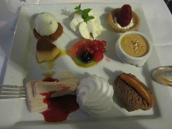 Muhledorf, Schweiz: Dessert....