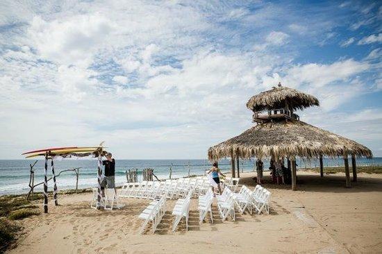 Villa Santa Cruz : Cermony near palaypa beside beach