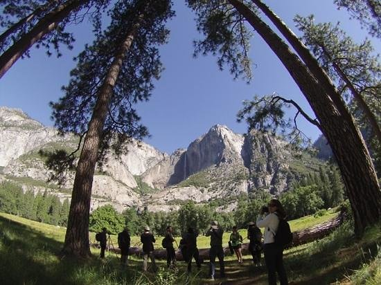 Yosemite Falls : using the still mode of my GoPro