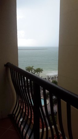 Holiday Inn Hotel & Suites Clearwater Beach: View of waterfront from our 5th floor balcony