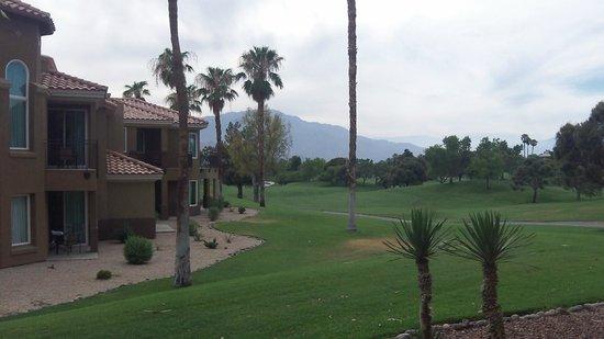 Marriott's Desert Springs Villas II: ROOM VIEW - GOLF AREA