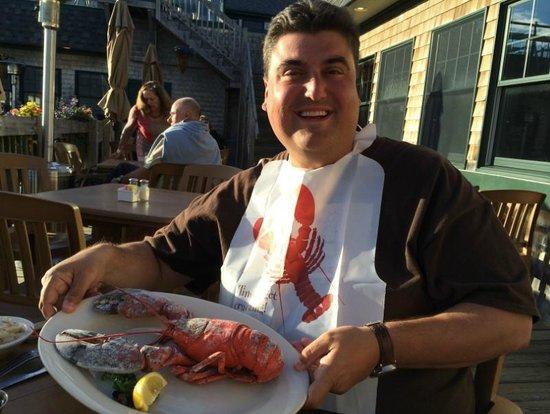 Fisherman's Friend: My lobster - before