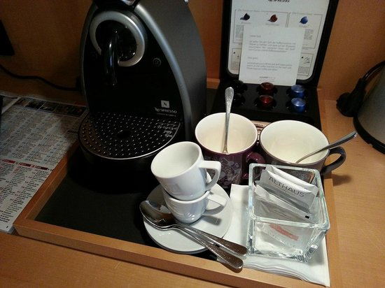 Swissotel Berlin : Nespresso machine is a plus