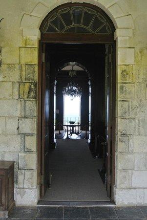 Mansión Rose Hall: The back door
