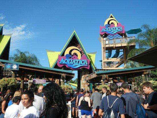 Aquatica Orlando: Entrada do Parque