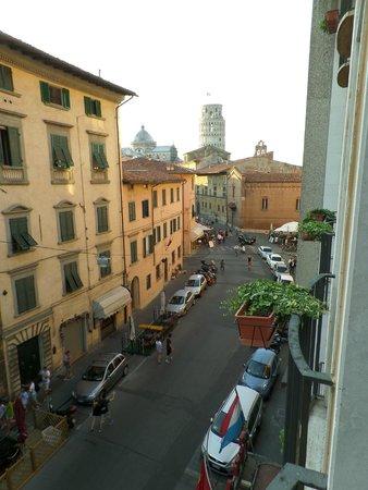 Grand Hotel Duomo: Вид из номера