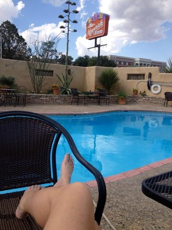 The Maverick Inn: Maverick pool.