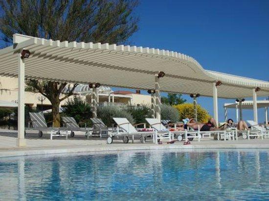 Palace Hotel San Michele : プール 子供も遊べるスペースあり。