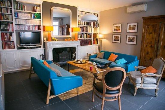 La villa bordeaux chambres dhôtes salon