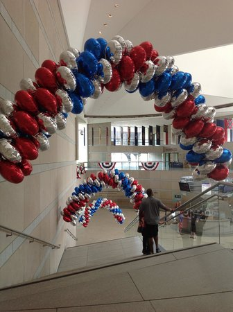 National Constitution Center: The main staircase