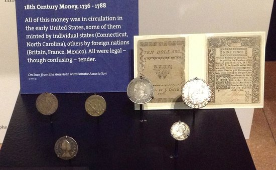 National Constitution Center: I learned much about the use is money in the C18th