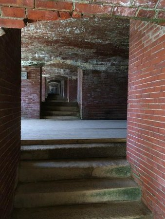 Fort Knox State Historic Site : The original bricks and granite throughout