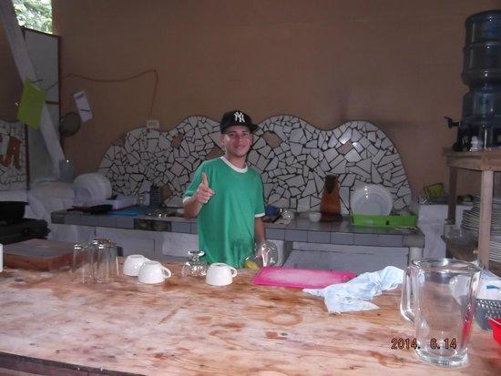 Cabinas Talamanca: Cook