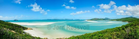 ISail Whitsundays: View over Hill Inlet
