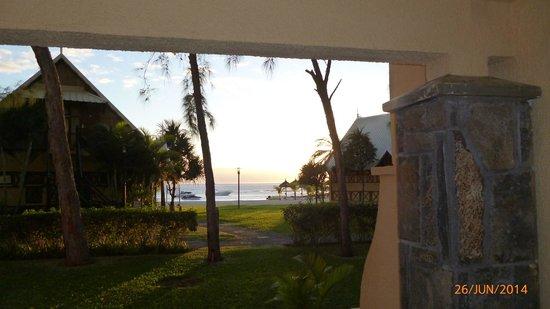 Preskil Beach Resort: lever de soleil