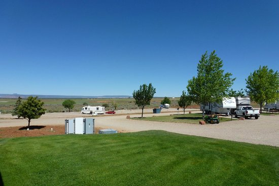 Rv Parks Utah Map.Lower Campsites Picture Of Blue Mountain Rv Park Blanding