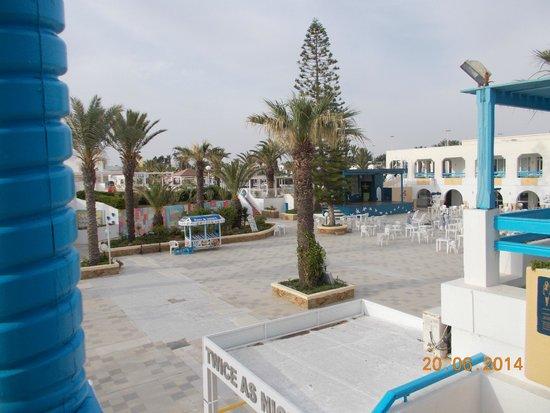 El Mouradi Club Kantaoui: piazzetta del villaggio