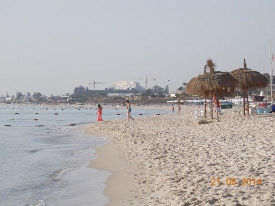 El Mouradi Club Kantaoui: spiaggia