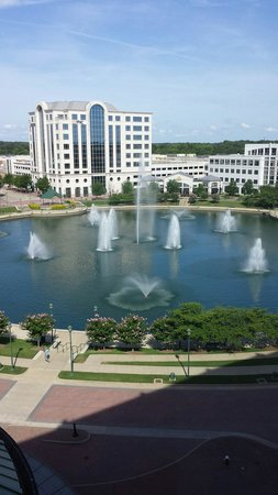 Newport News Marriott at City Center: View from our room ~ RM 822