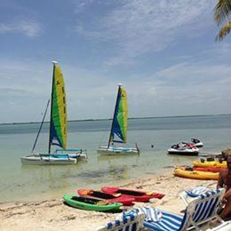 Hilton Key Largo Resort: Great water sports and staff...Alex, Jordan and Victoria were great!