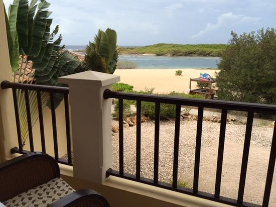 Santa Barbara Beach & Golf Resort, Curacao: Partial water view room sold as full water view