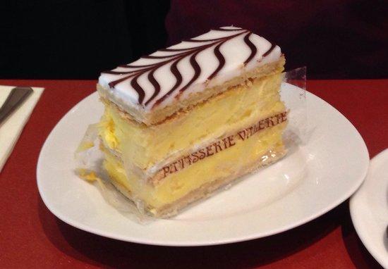 Patisserie Valerie: Custard slice