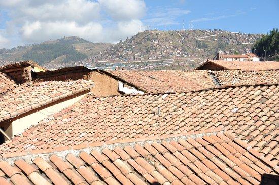 Tierra Viva Cusco San Blas: Vista desde una de las terrazas del hotel
