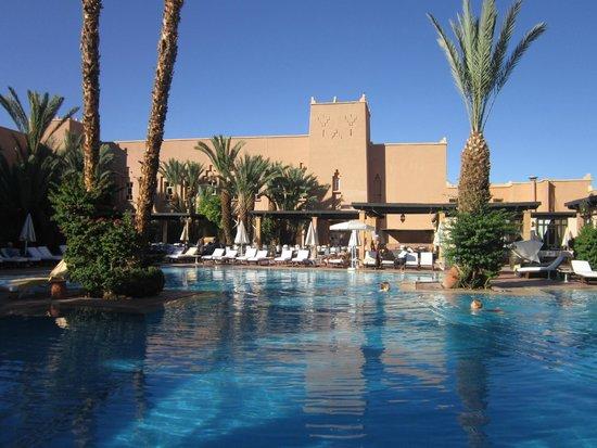 Le Berbère Palace : la piscina