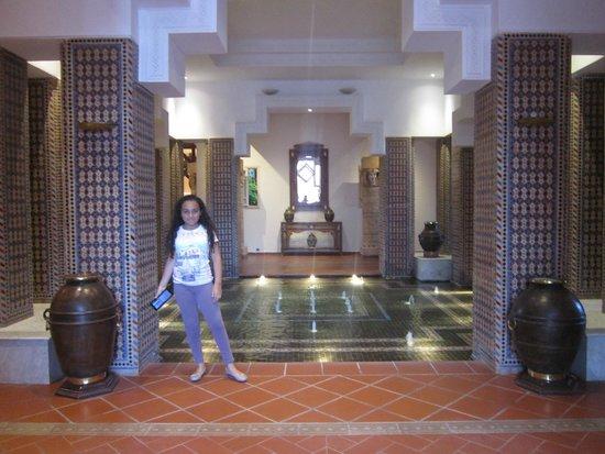Le Berbère Palace : l'ingresso