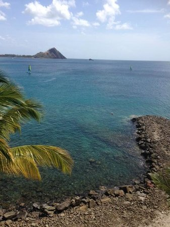 BodyHoliday Saint Lucia : view from my balcony across the bay