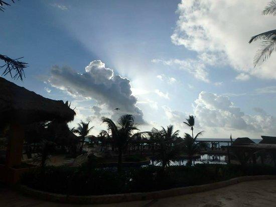 Fiesta Americana Condesa Cancun All Inclusive: Beautiful sunrise!