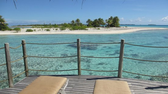 Tikehau Pearl Beach Resort : la vue sans vis à vis