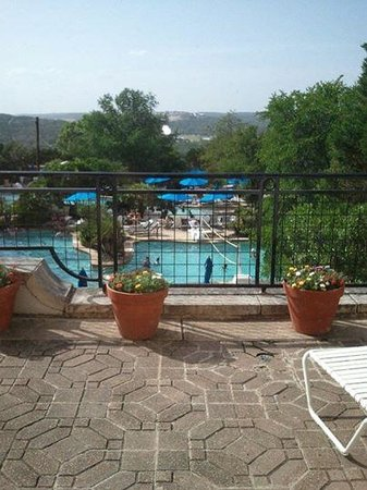 La Cantera Resort & Spa: The view from our balcony room 3314