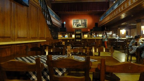Slovak Pub : The Inside Part of the Restaurant