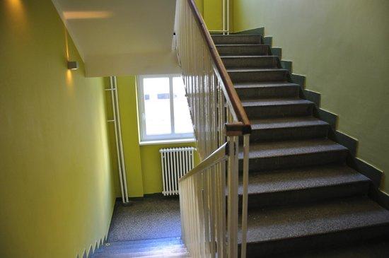 Patio Hostel: stairs!!!