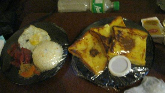 Hotel Veniz: free breakfast ( room service )
