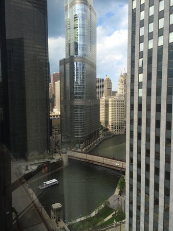 Renaissance Chicago Downtown Hotel: View from my room.