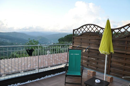 Agriturismo I Fornari : Het balkon