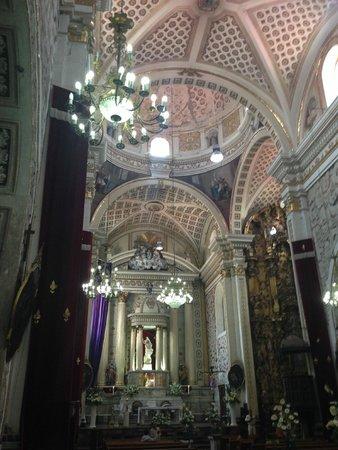 La Esmeralda: iglesia en atlixco