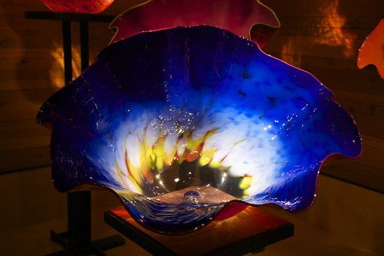 Chihuly Collection: Blue Bowl
