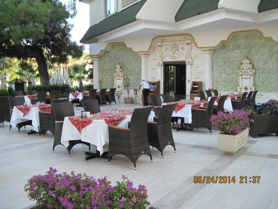 Queens Park Tekirova Resort and Spa: Китайский ресторан