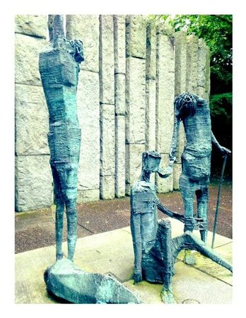 Parque St Stephen's Green: a famine memorial