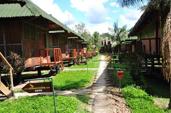 Ecoamazonia Lodge: Cabañas