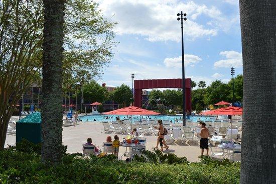 Disney's All-Star Movies Resort: piscina otima