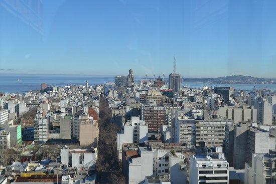 Mirador Panoramico de Montevideo: Vista