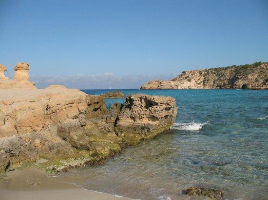 Insotel Tarida Beach Sensatori Resort : Vista dalla spiaggia