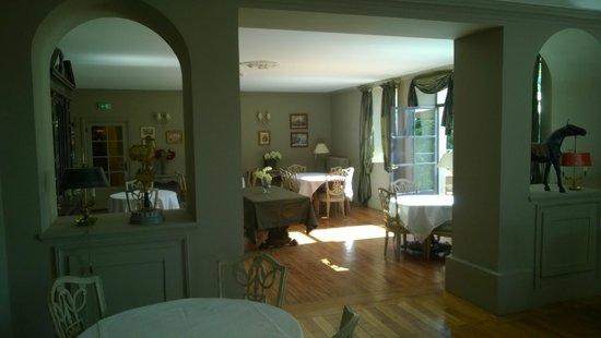 Hôtel Le Sauvage : Dining room