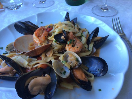 La Capannina: 2nd Course - Seafood Pasta!